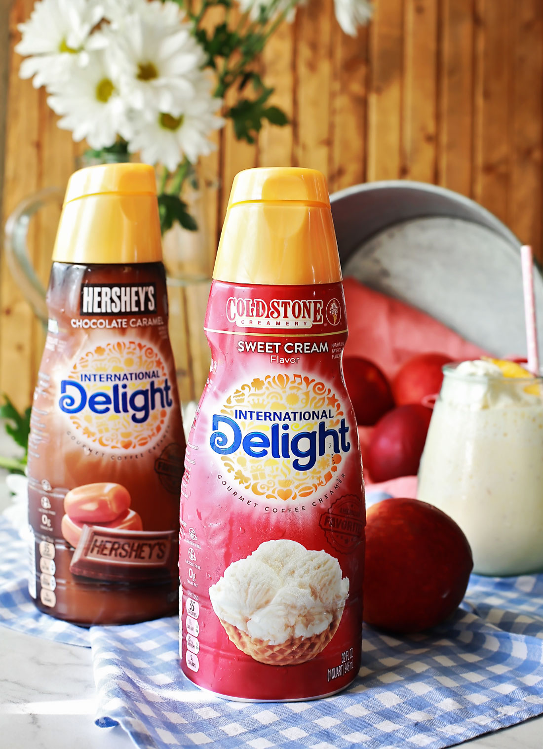 Peach frappe by Flirting with Flavor