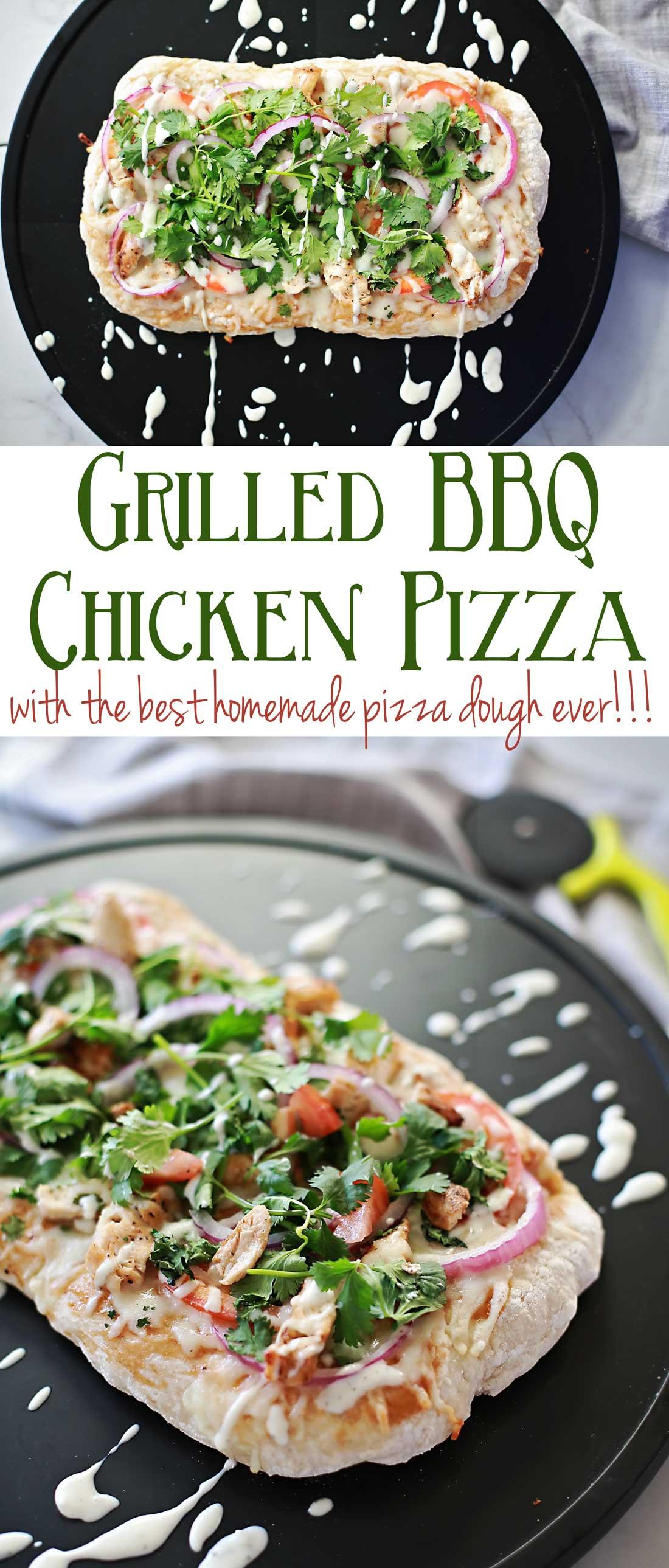 AMAZING BBQ Chicken Pizza!