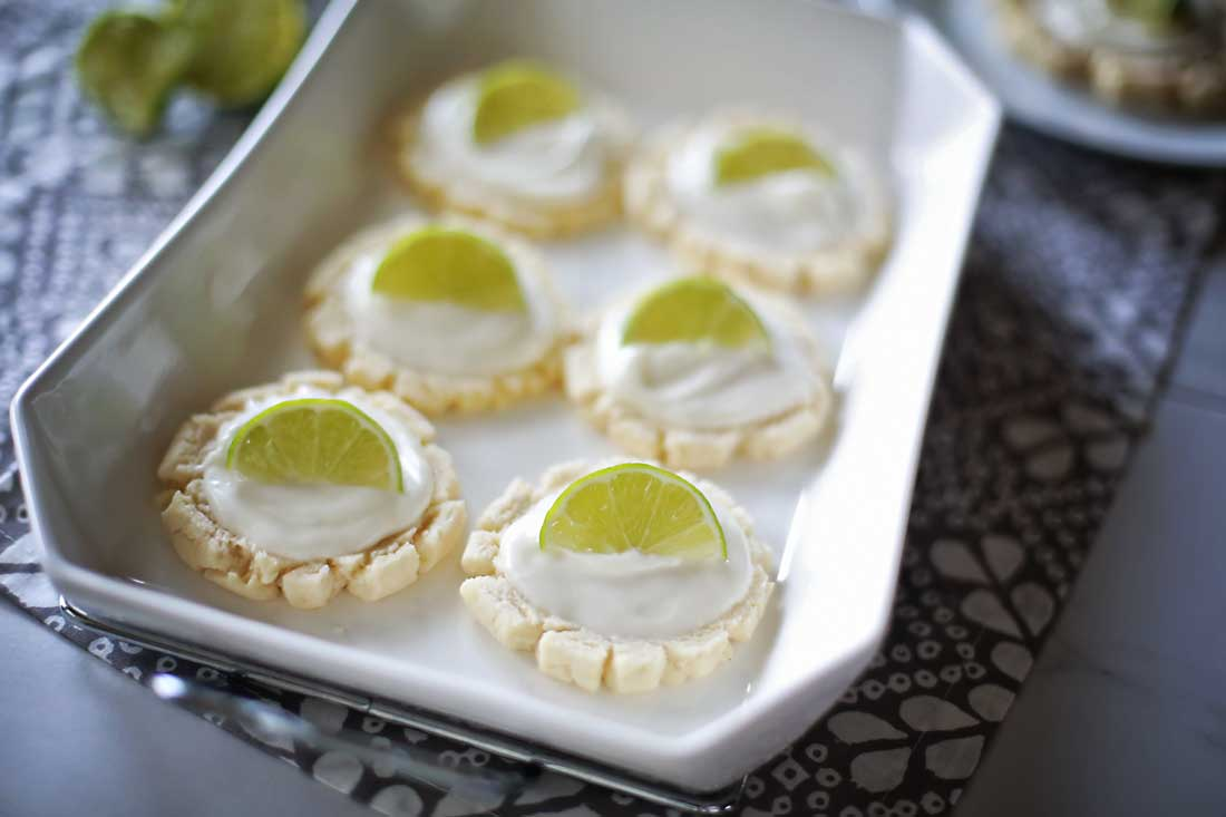 Super incredible Lime Coconut Sugar cookies!