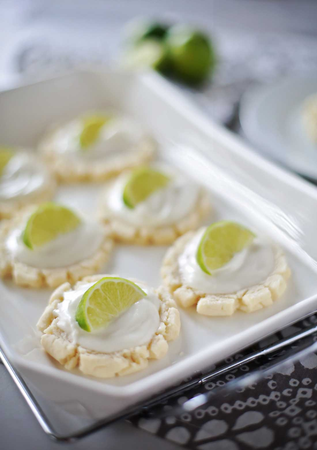 DELICIOUS Coconut Lime Sugar Cookies by Flirting with Flavor!