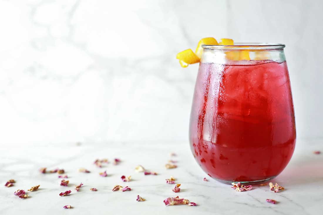 Starbucks copycat Passion Tango Sweet Herbal Iced Tea by Flirting with Flavor