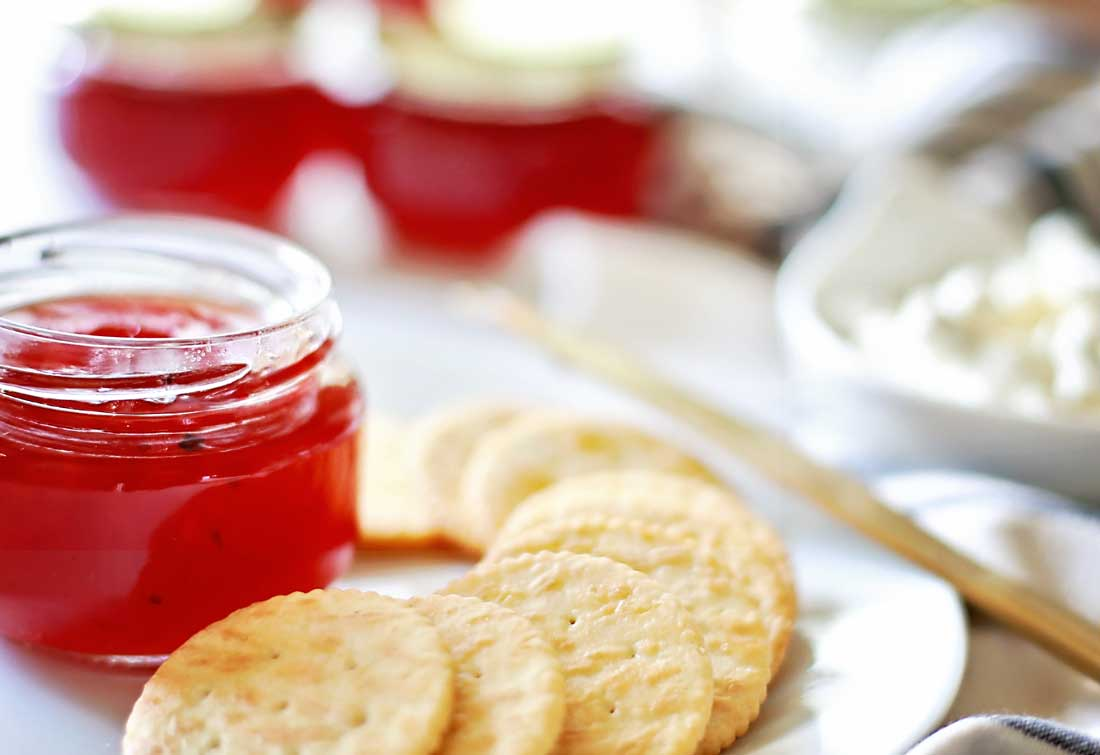 Cranberry Red Pepper Jelly by Flirting with Flavor!