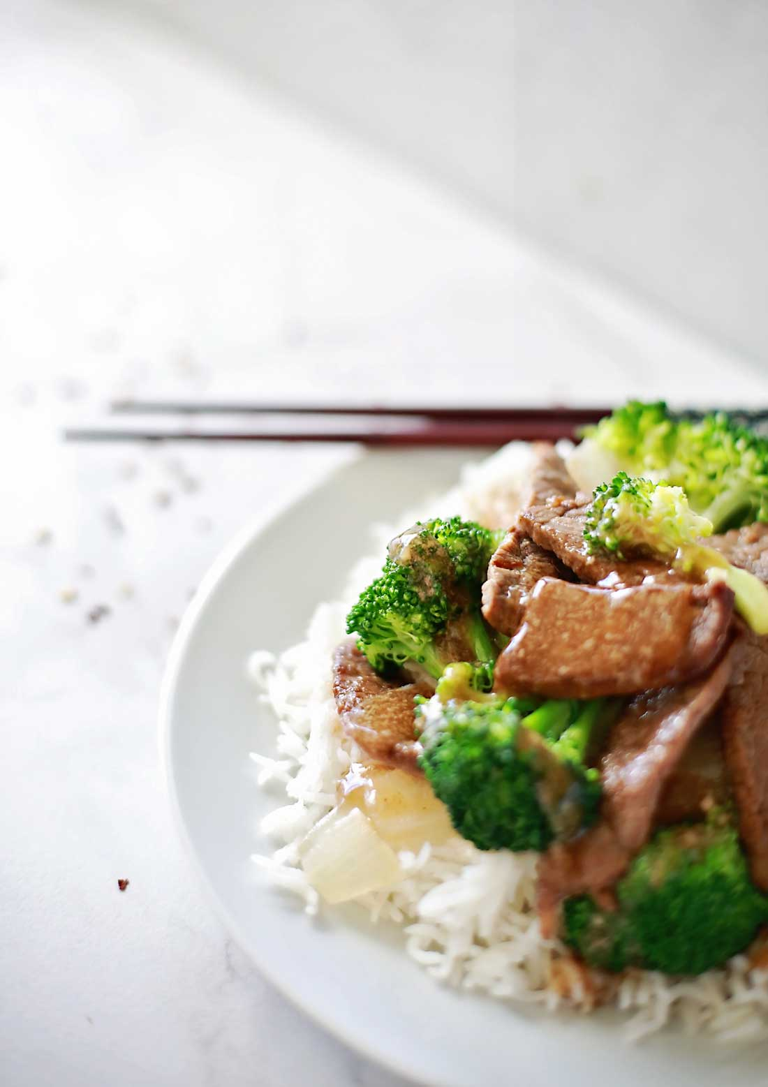 Best Asian beef and broccoli recipe: Tender marinated beef with broccoli cooked tender yet toothsome, in an easy delicious savory sauce.