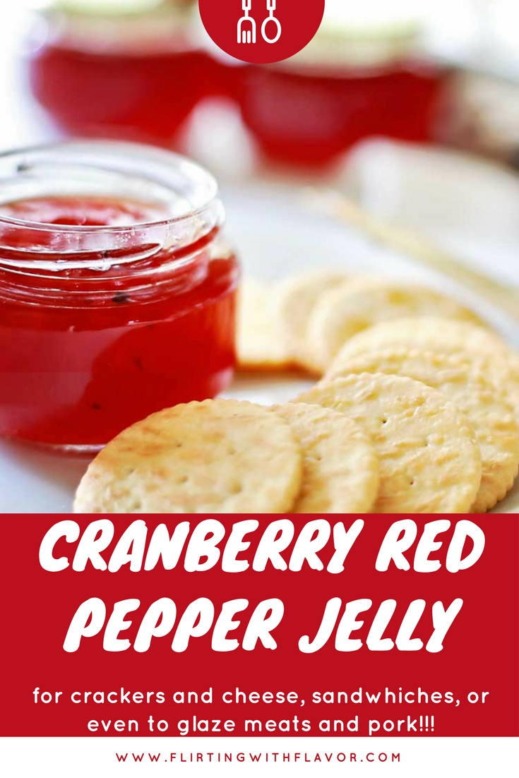 Cranberry Red Pepper Jelly that was SHOCKINGLY GOOD!!! #Sksharvest #seasonalsolutions #collectivebias #ad
