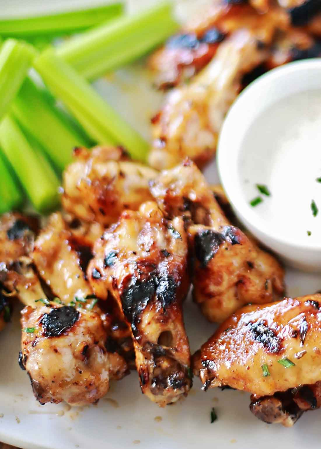 INCREDIBLE Dr Pepper Habanero Glazed and Baked Chicken Wings recipe!!!