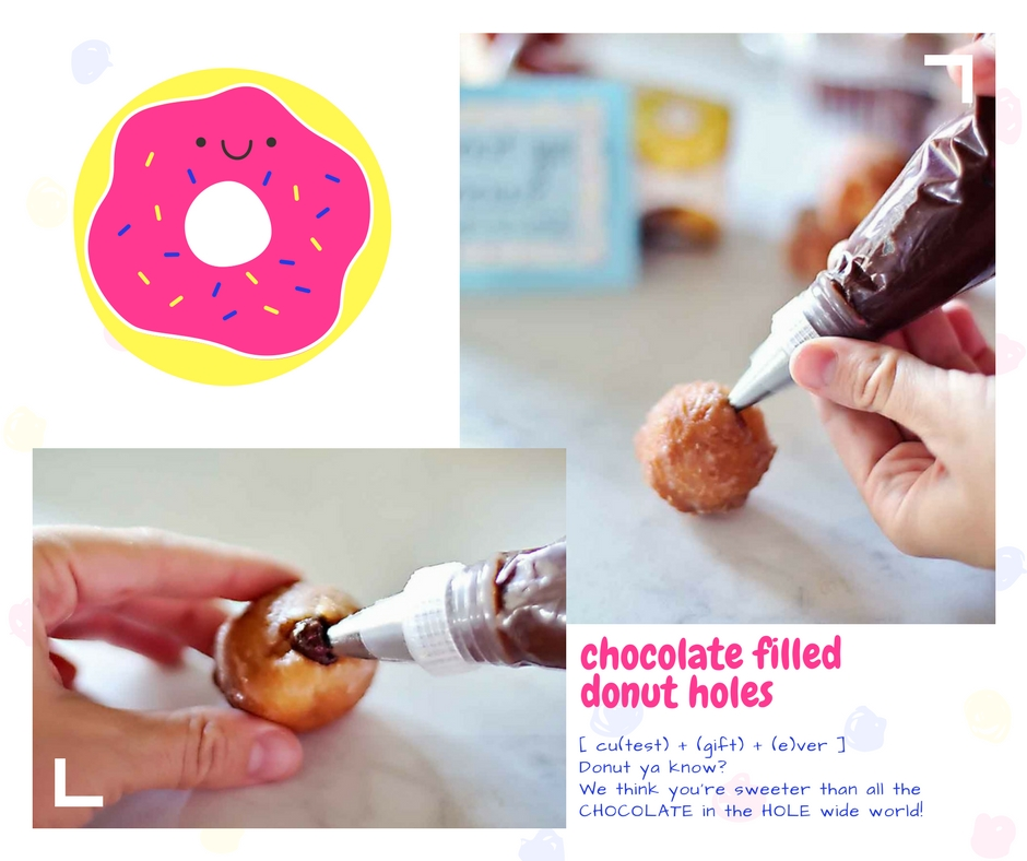 Chocolate filled Donut Holes by Flirting with Flavor!