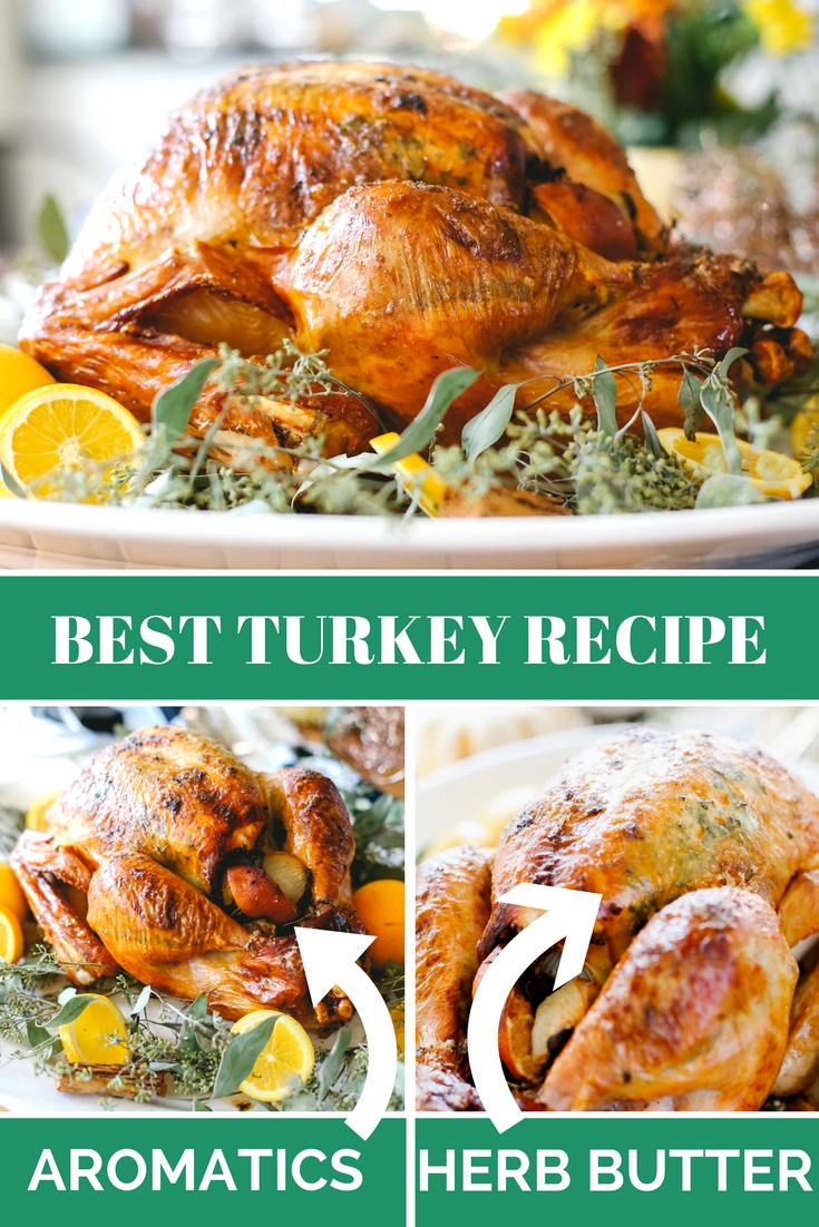 Super Moist thanksgiving turkey recipe with easy to follow steps!!!