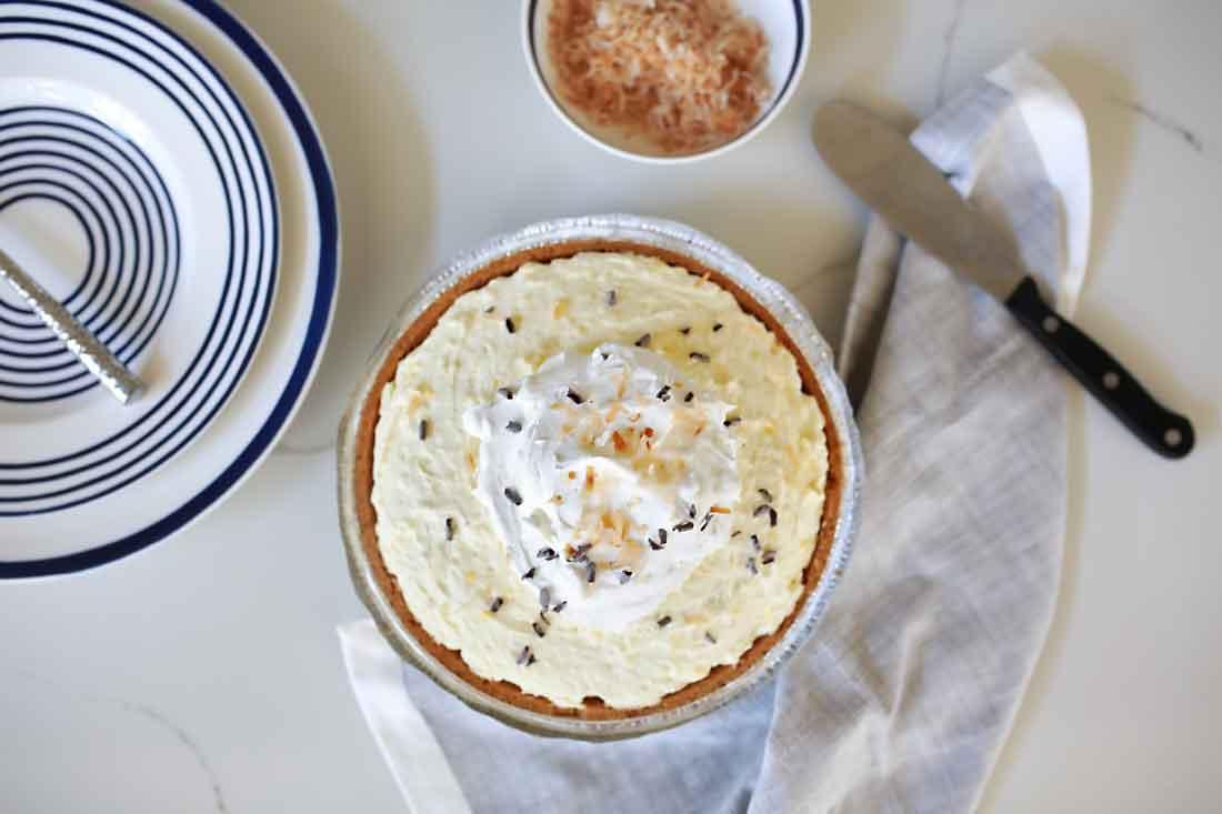 Super incredible coconut cream pie!