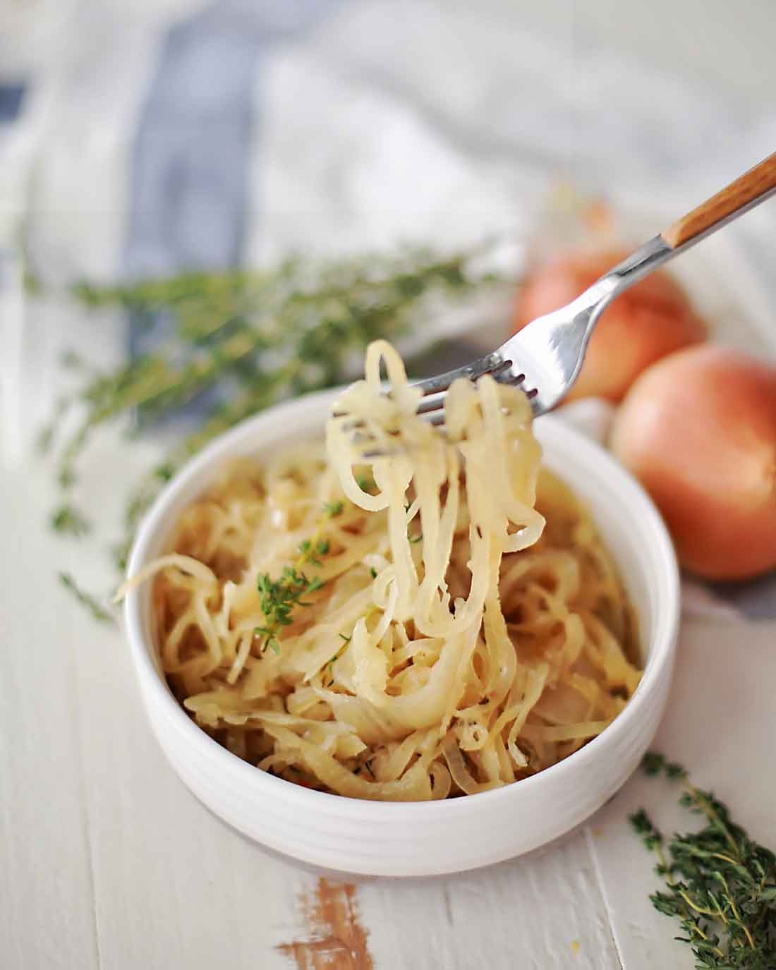 melted onions make everything taste better. Awesome recipe for crockpot melted onions!