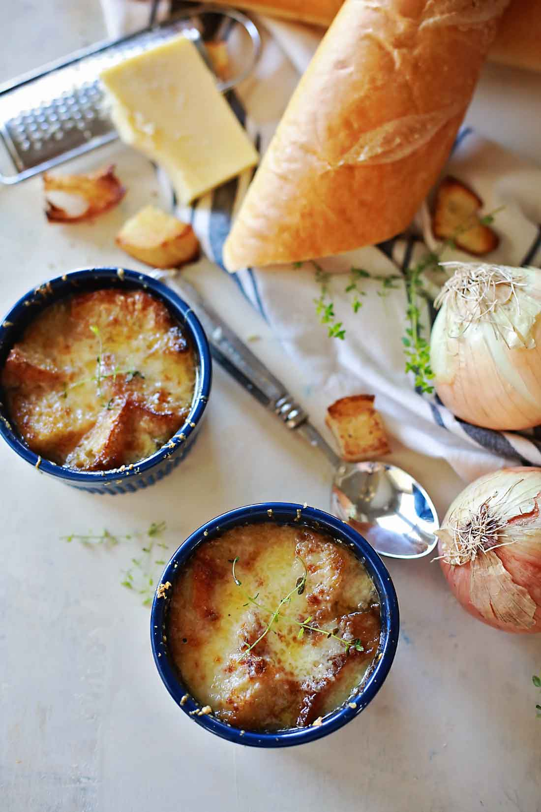 Delicious Onion Soup recipe!