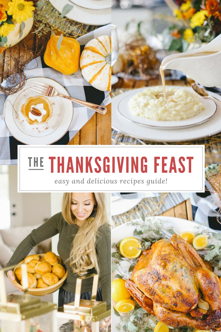 Recipes for the best ever Thanksgiving Feast!