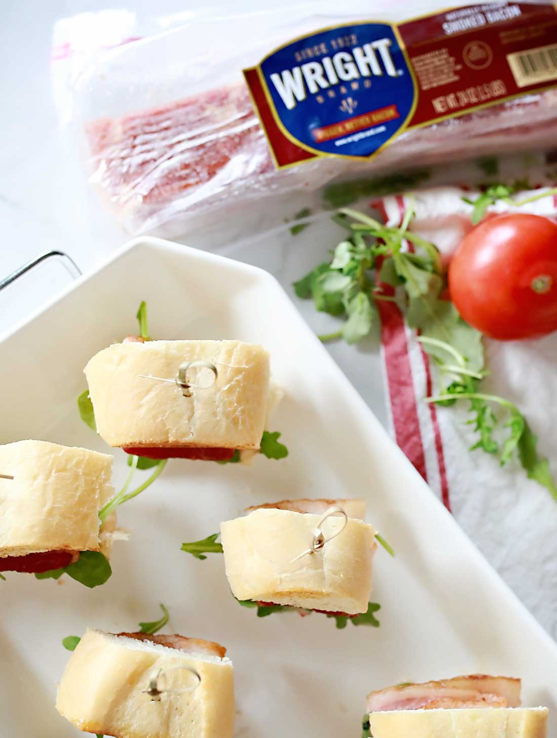 Wright brand bacon is the best to use in BLTs because its bigger and better!