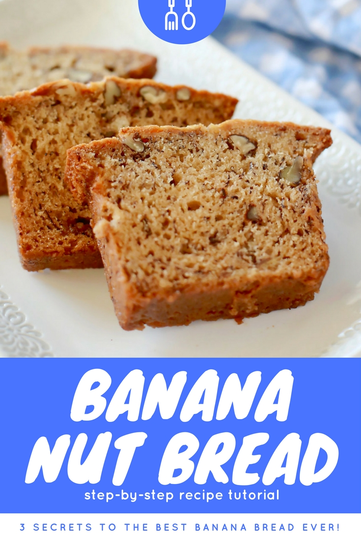 Best banana bread in the history of ever.