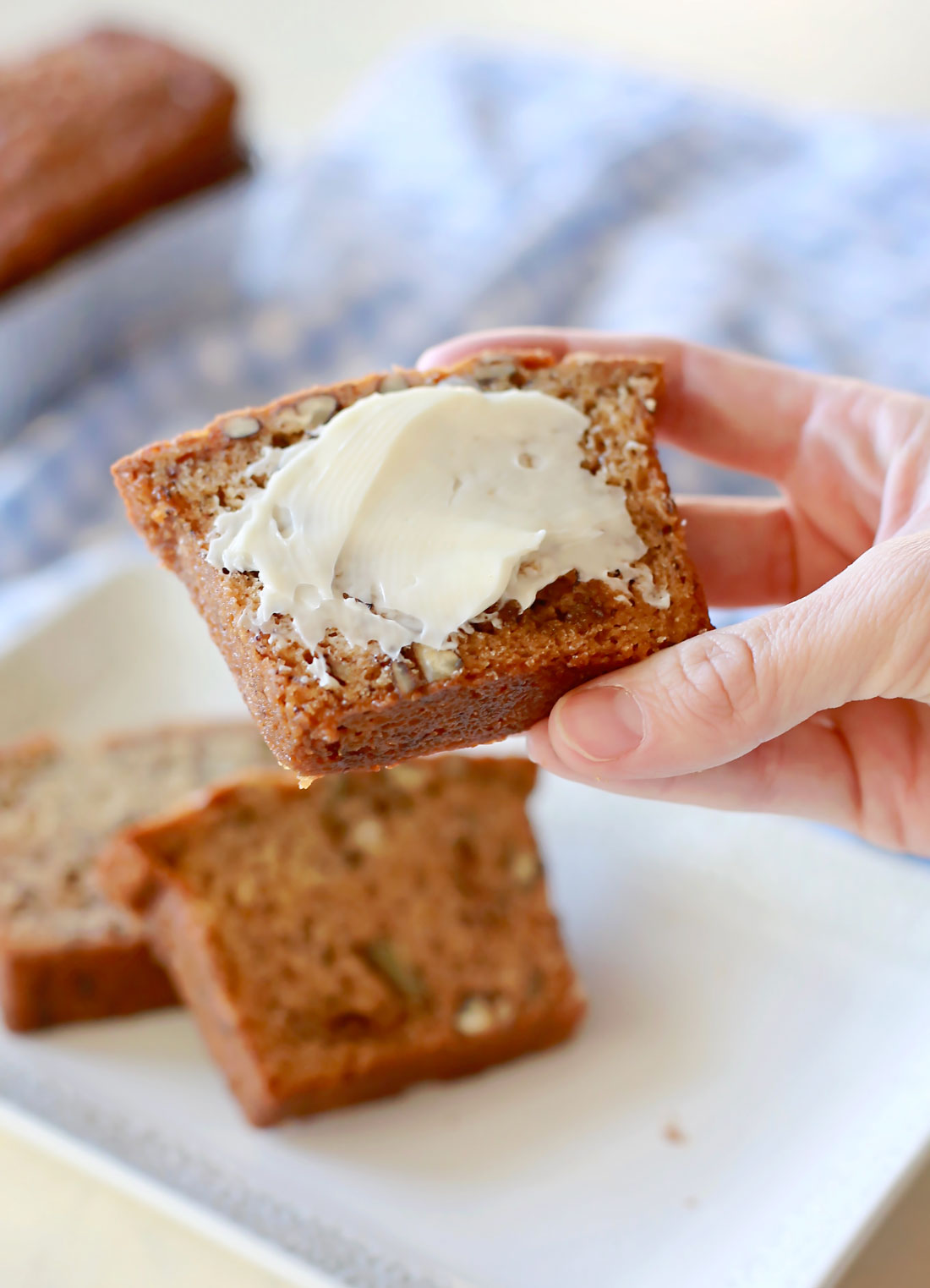 Best banana nut bread recipe ever of all time!