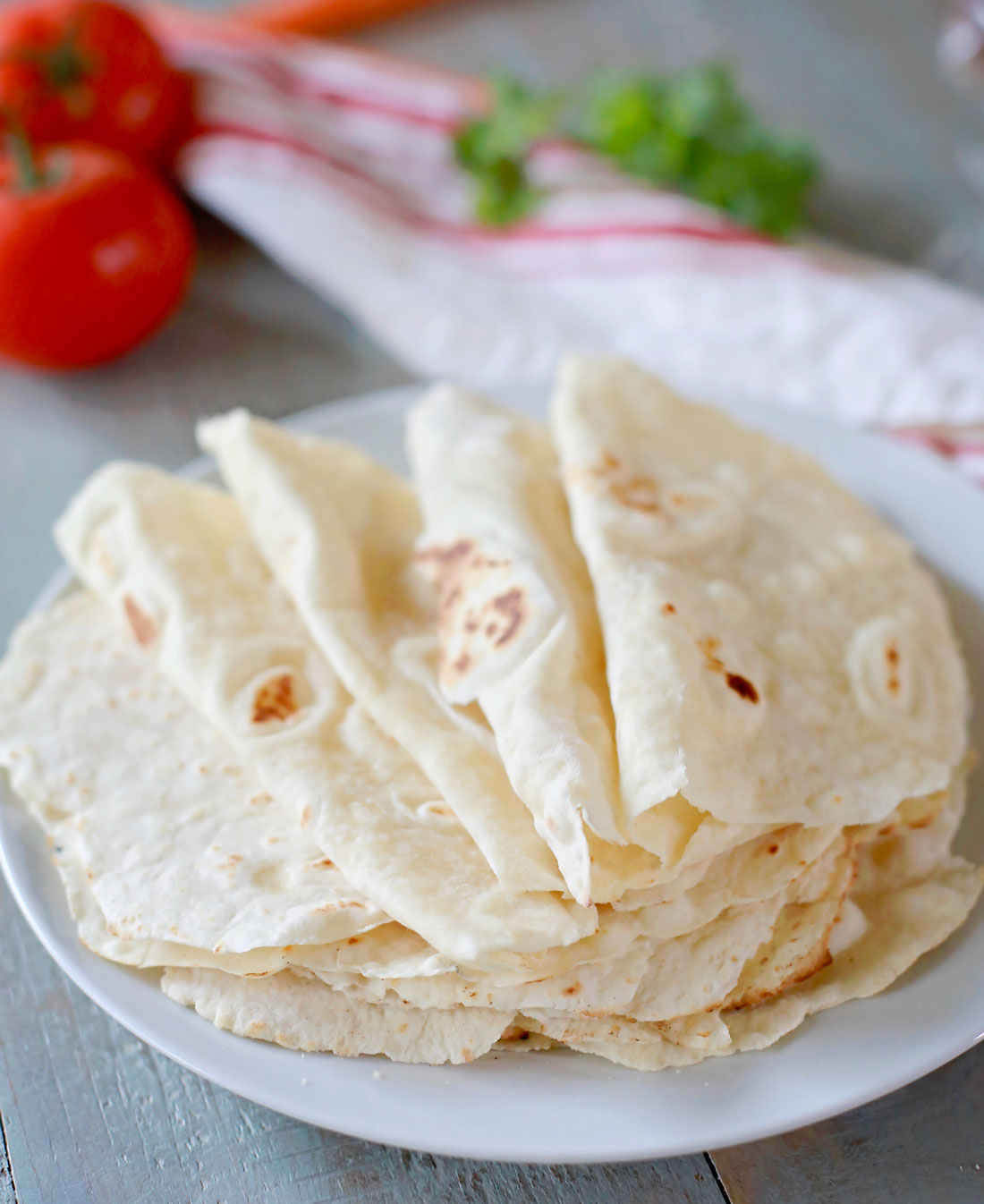 Easy Homemade Flour Tortillas Tangled With Taste