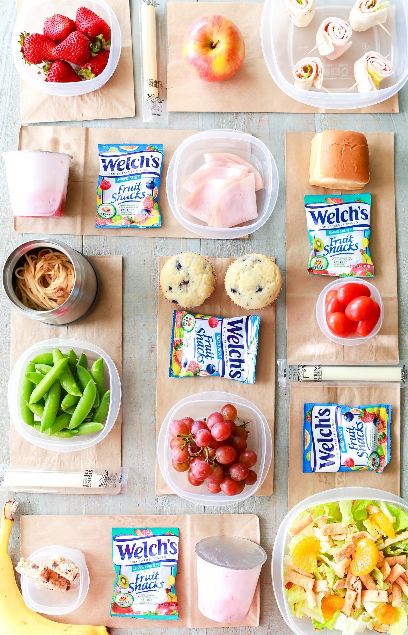 Back to school lunch ideas besides sandwiches!