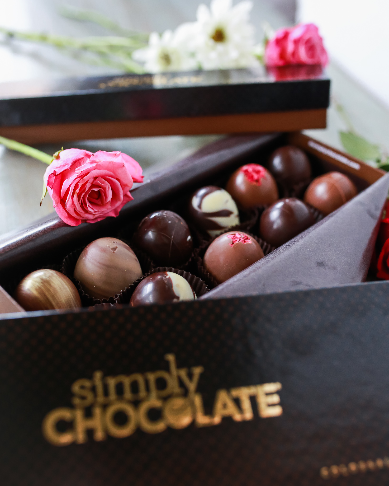 Delicious artisan chocolates for the win!