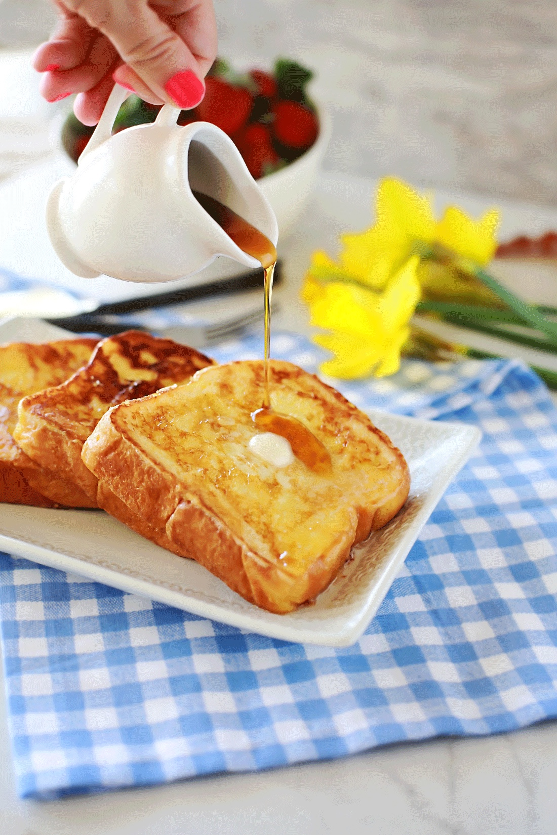 Thick And Rich Best Ever French Toast Tangled With Taste