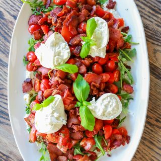 BLT Burrata Salad recipe