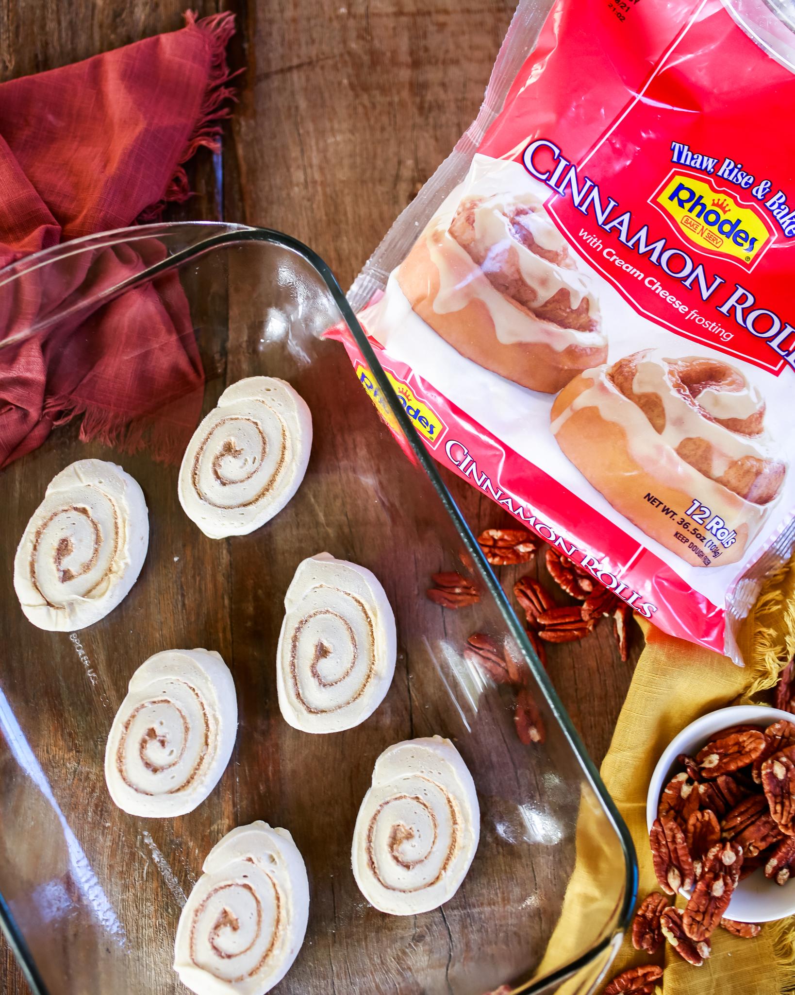 Rhodes Bake n Serve Cinnamon Rolls are incredible!