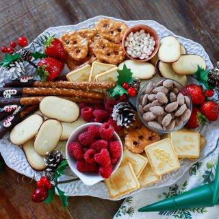 With all these yummy products on the table, Santa will make your house first on his list for a snack!