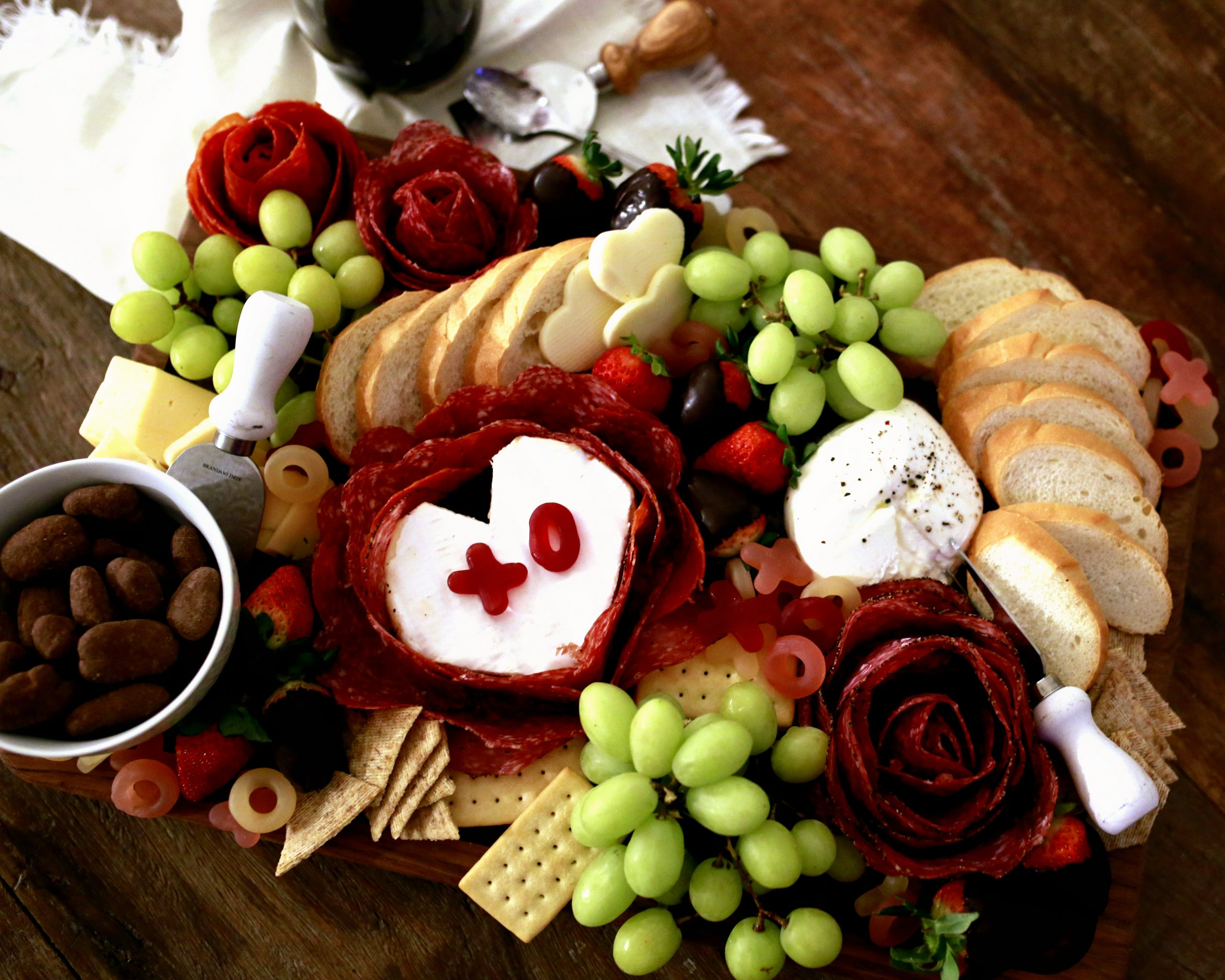 Easy tutorial for beautiful charcuterie display