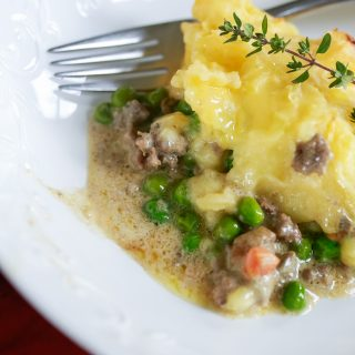 Quick and easy recipe for comfort food shepherds pie