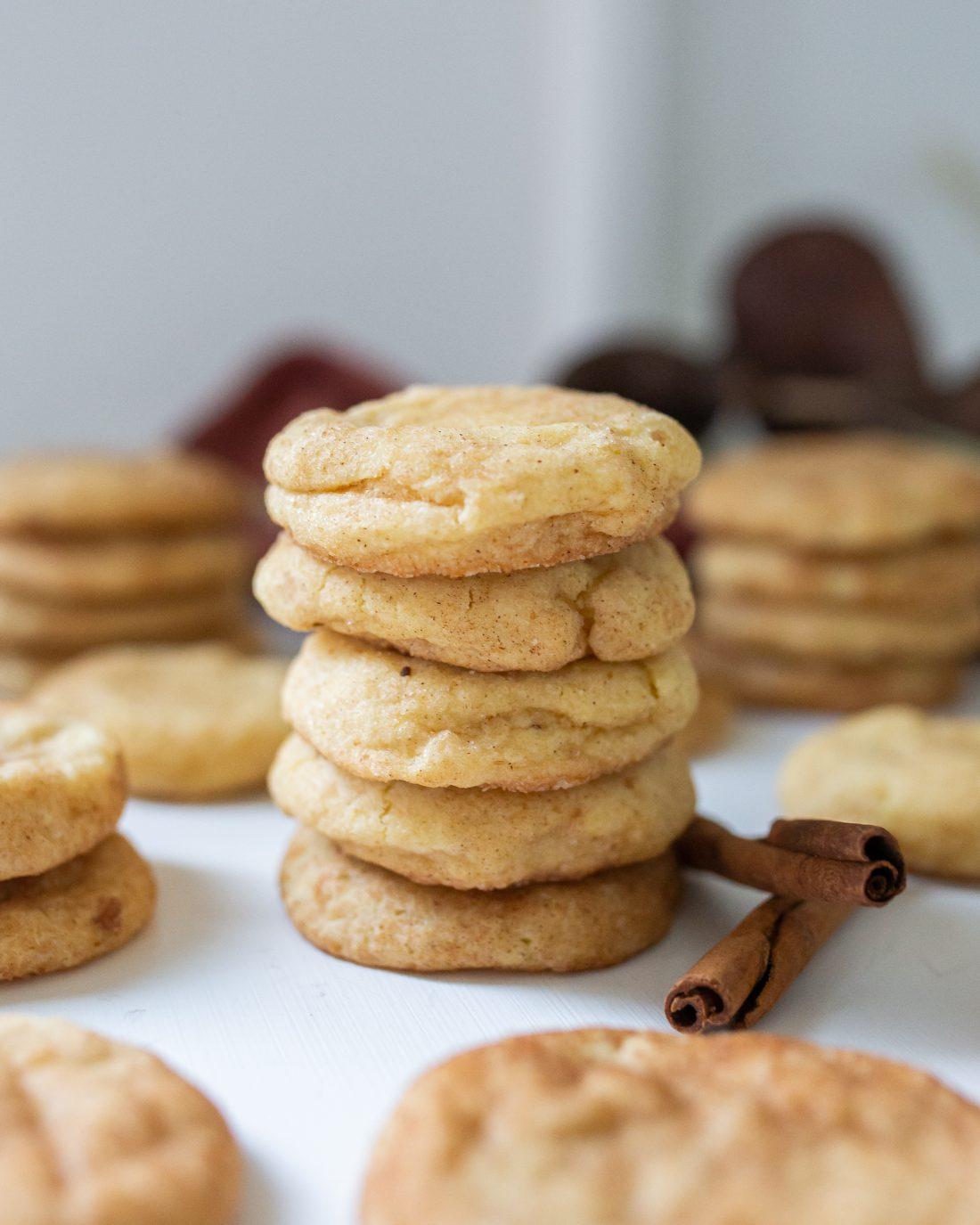 Best fall snickerdoodle cookies