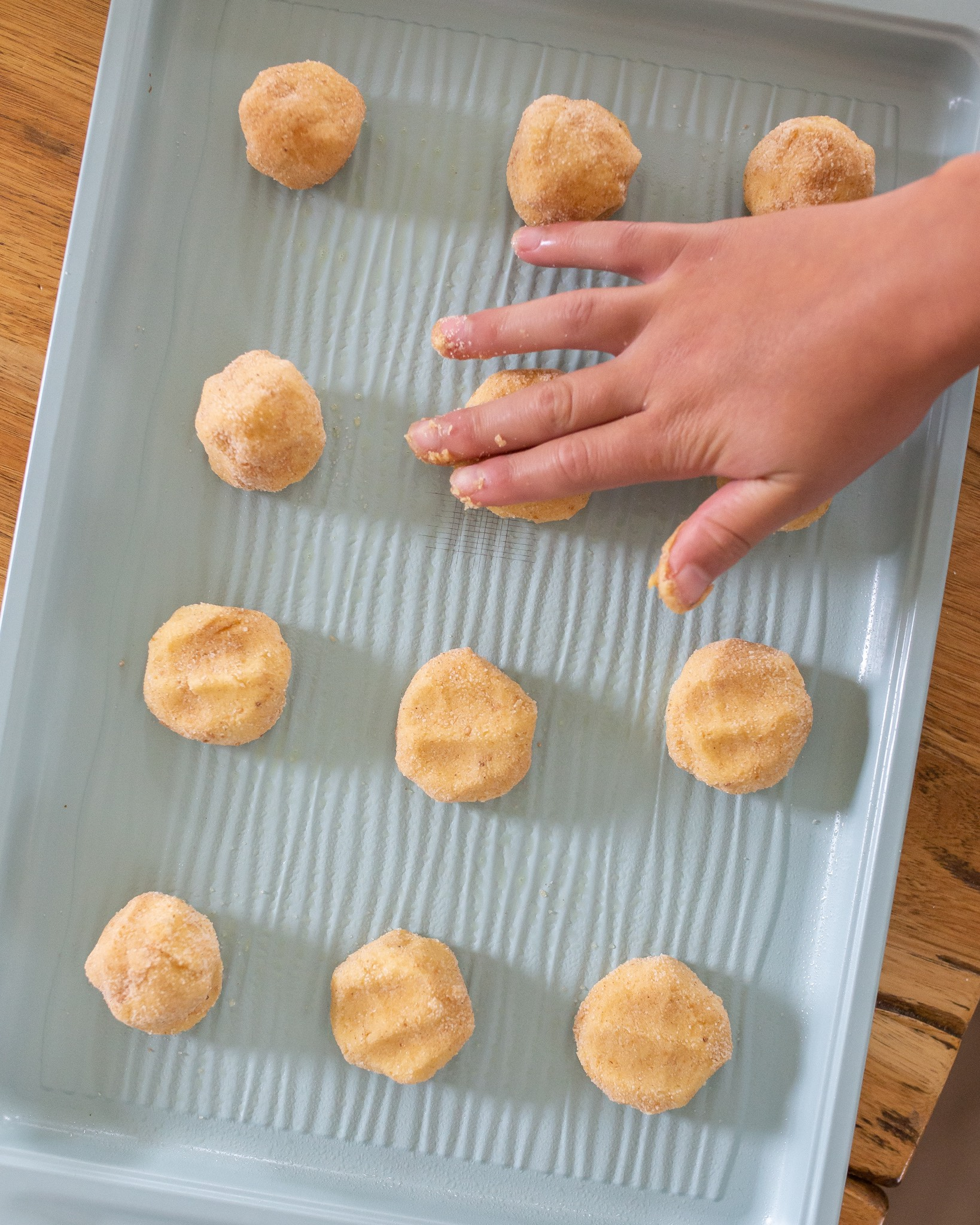 fall snickerdoodle cookies recipe